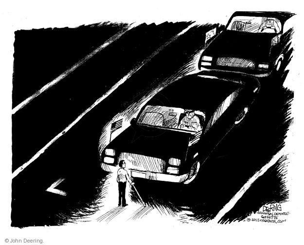 Cartoonist John Deering  John Deering's Editorial Cartoons 2012-05-07 man