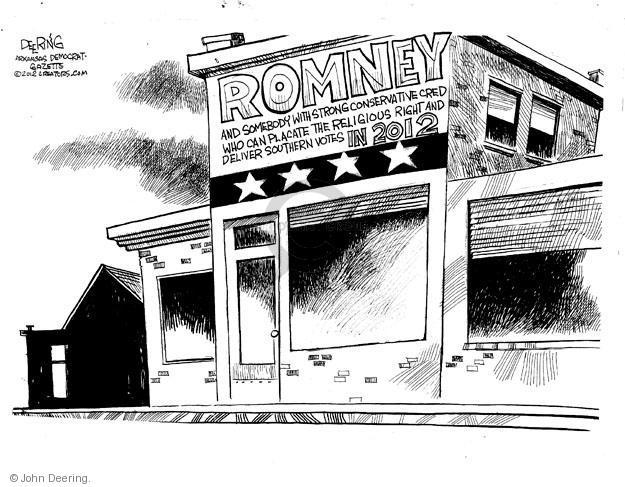 John Deering  John Deering's Editorial Cartoons 2012-05-08 former president