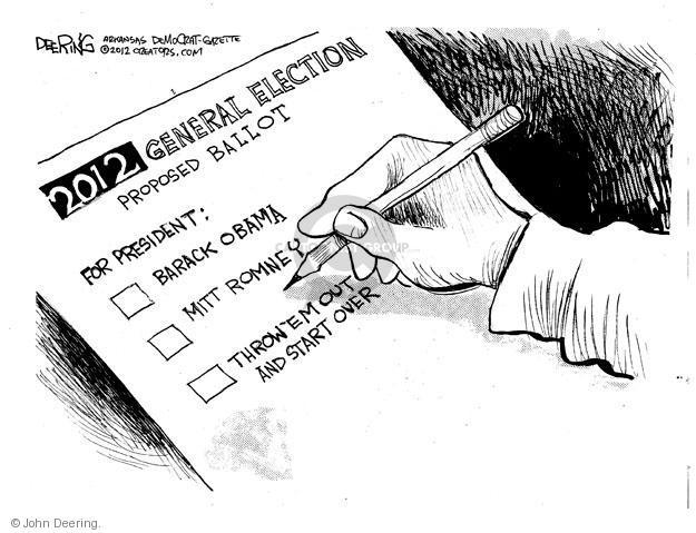 John Deering  John Deering's Editorial Cartoons 2012-05-30 president