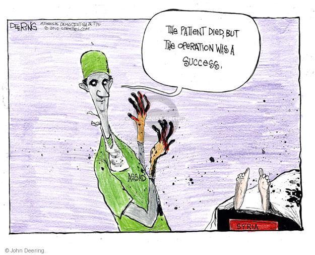 John Deering  John Deering's Editorial Cartoons 2012-06-05 president