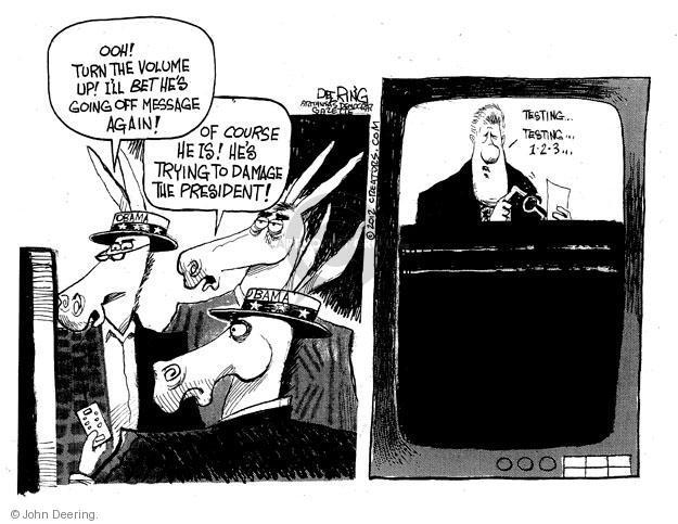 John Deering  John Deering's Editorial Cartoons 2012-06-07 president