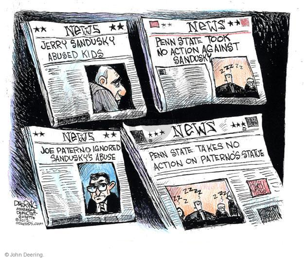 Cartoonist John Deering  John Deering's Editorial Cartoons 2012-07-17 Jerry