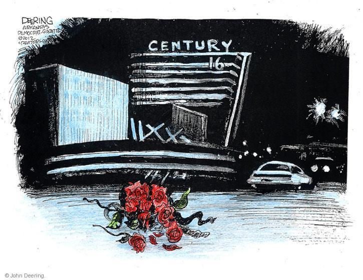 John Deering  John Deering's Editorial Cartoons 2012-07-21 James