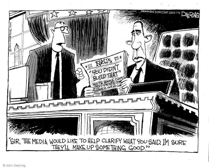 John Deering  John Deering's Editorial Cartoons 2012-07-26 election journalism