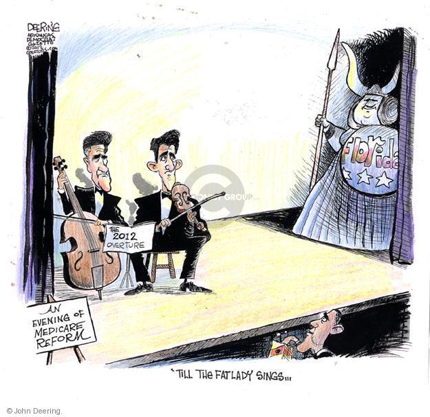 John Deering  John Deering's Editorial Cartoons 2012-08-20 health care reform