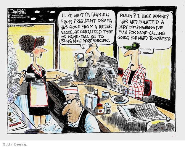 John Deering  John Deering's Editorial Cartoons 2012-08-29 former president