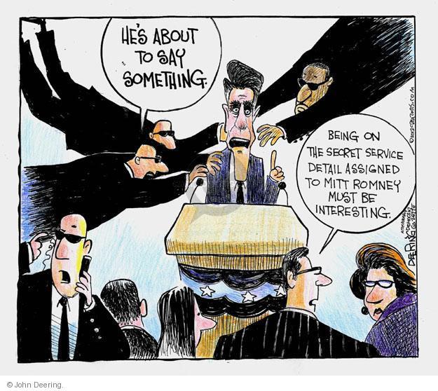 Cartoonist John Deering  John Deering's Editorial Cartoons 2012-09-14 secret