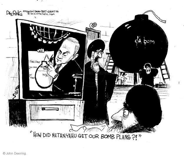 John Deering  John Deering's Editorial Cartoons 2012-09-28 Iran