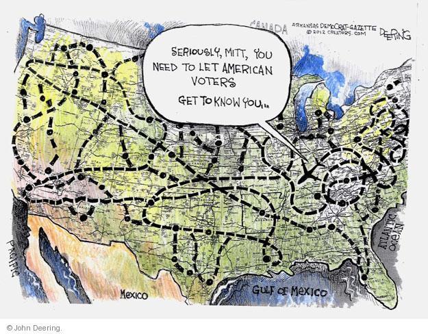 John Deering  John Deering's Editorial Cartoons 2012-10-01 Republican voter