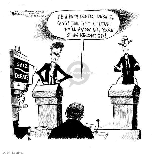 John Deering  John Deering's Editorial Cartoons 2012-10-03 2012 election