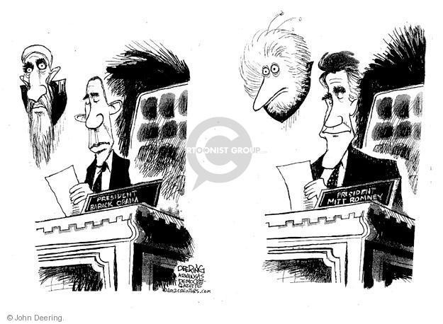 John Deering  John Deering's Editorial Cartoons 2012-10-06 2012 election