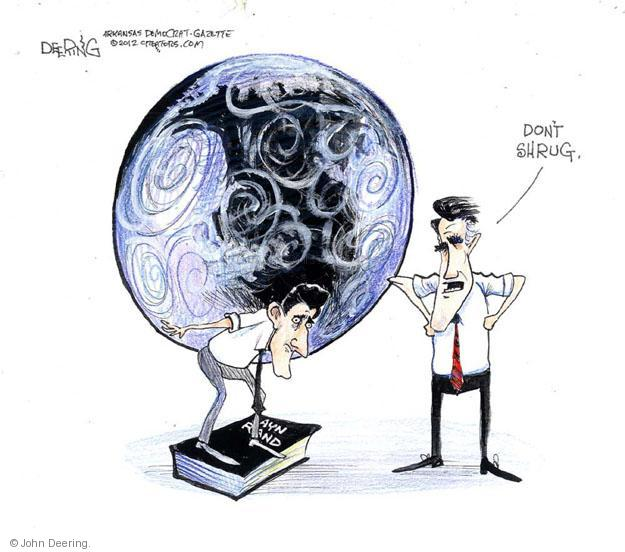 Cartoonist John Deering  John Deering's Editorial Cartoons 2012-10-11 Paul
