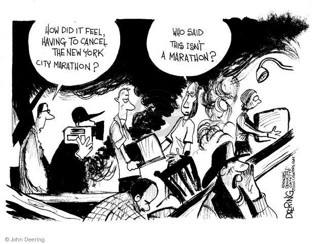 Cartoonist John Deering  John Deering's Editorial Cartoons 2012-11-06 reporter