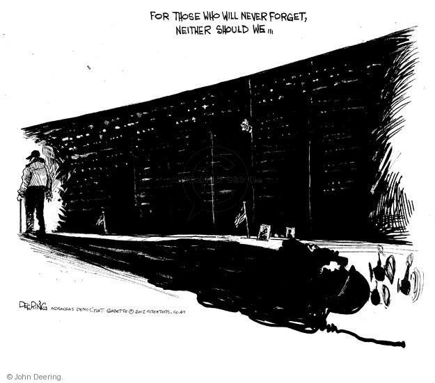 Cartoonist John Deering  John Deering's Editorial Cartoons 2012-11-10 defense