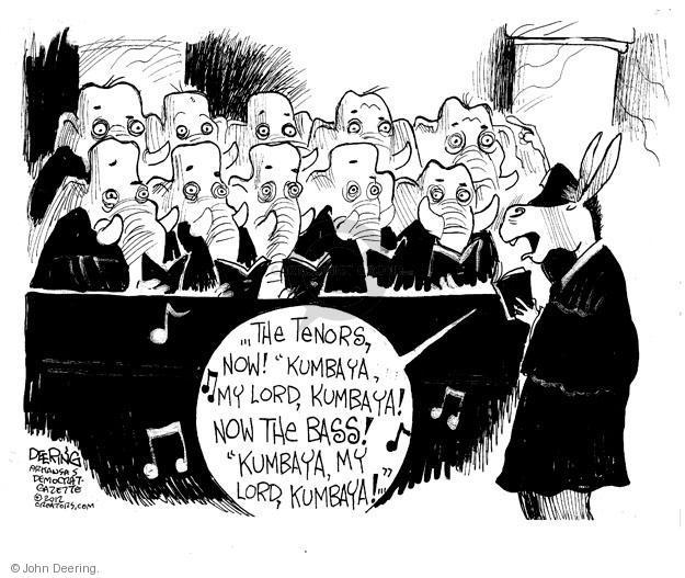 Cartoonist John Deering  John Deering's Editorial Cartoons 2012-11-11 partisan politics