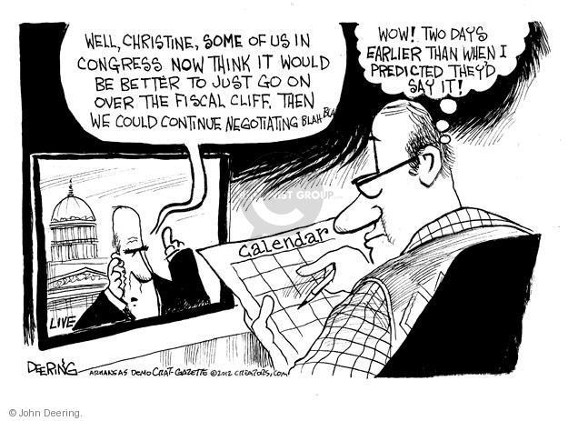 John Deering  John Deering's Editorial Cartoons 2012-11-15 Congress