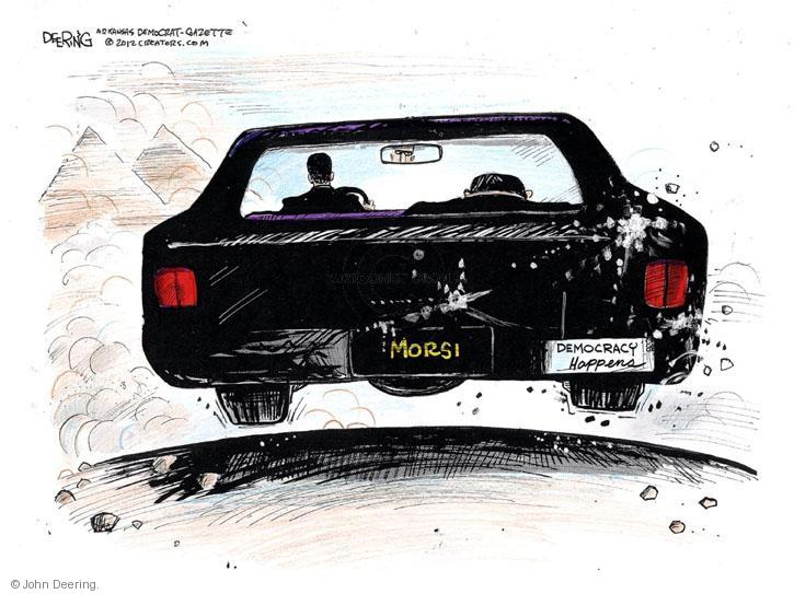 Cartoonist John Deering  John Deering's Editorial Cartoons 2012-11-28 democracy