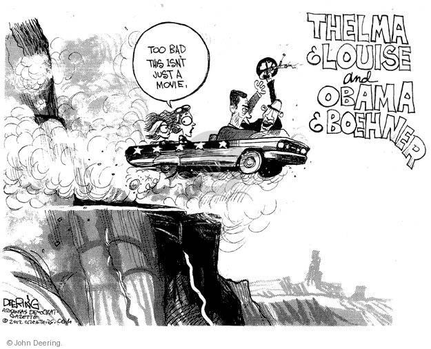John Deering  John Deering's Editorial Cartoons 2012-12-05 bad