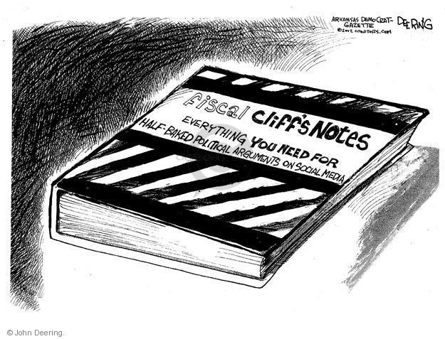 Cartoonist John Deering  John Deering's Editorial Cartoons 2012-12-13 social media politics