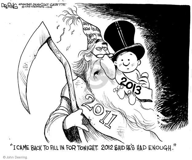 John Deering  John Deering's Editorial Cartoons 2012-12-31 2011
