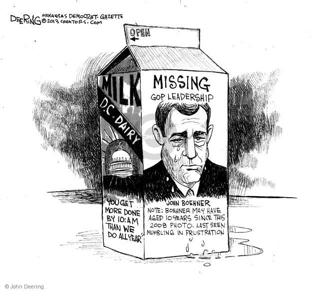 Cartoonist John Deering  John Deering's Editorial Cartoons 2013-01-11 miss