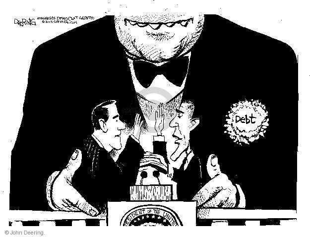 Cartoonist John Deering  John Deering's Editorial Cartoons 2013-01-21 John Roberts