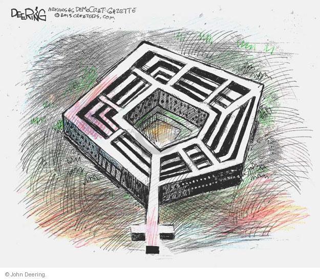 Cartoonist John Deering  John Deering's Editorial Cartoons 2013-01-25 defense