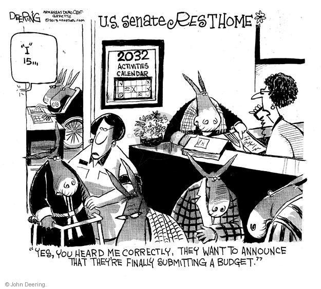 John Deering  John Deering's Editorial Cartoons 2013-02-06 Congress