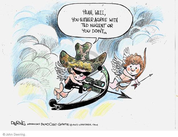 John Deering  John Deering's Editorial Cartoons 2013-02-14 cupid