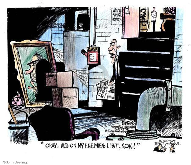 John Deering  John Deering's Editorial Cartoons 2013-03-03 Richard Nixon