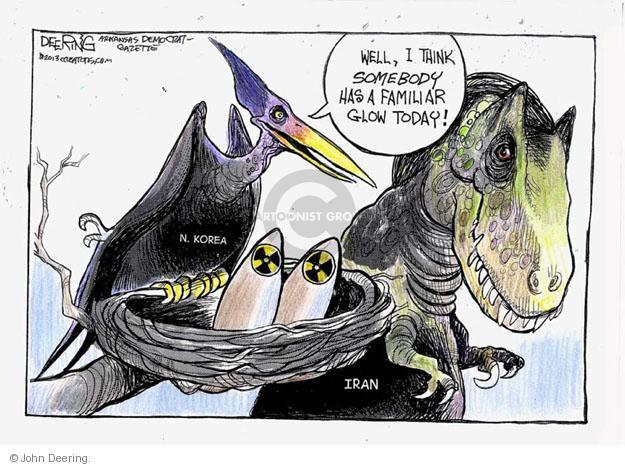 John Deering  John Deering's Editorial Cartoons 2013-03-10 Iran