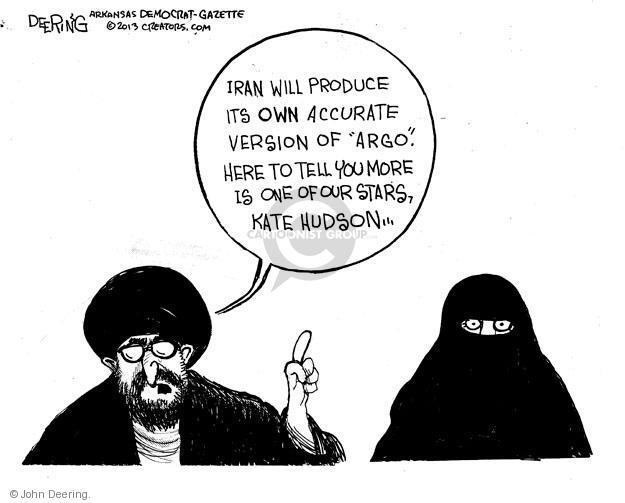 John Deering  John Deering's Editorial Cartoons 2013-03-19 Iran