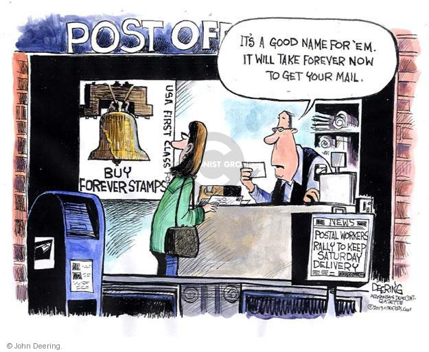 John Deering  John Deering's Editorial Cartoons 2013-03-26 mail