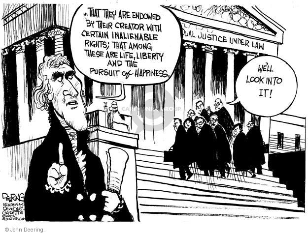 John Deering  John Deering's Editorial Cartoons 2013-03-27 court