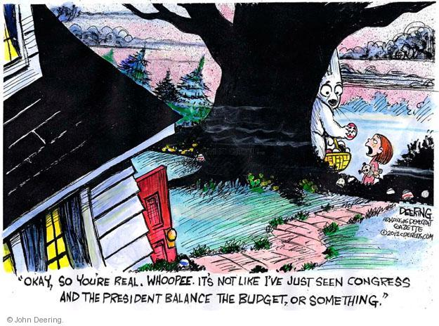 Cartoonist John Deering  John Deering's Editorial Cartoons 2013-03-31 impasse