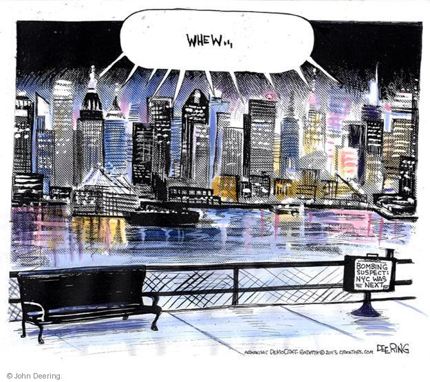 John Deering  John Deering's Editorial Cartoons 2013-04-29 New York