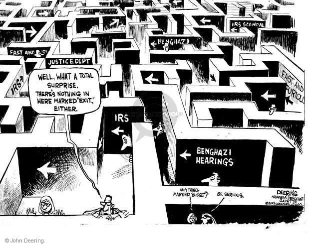Cartoonist John Deering  John Deering's Editorial Cartoons 2013-05-17 government agency