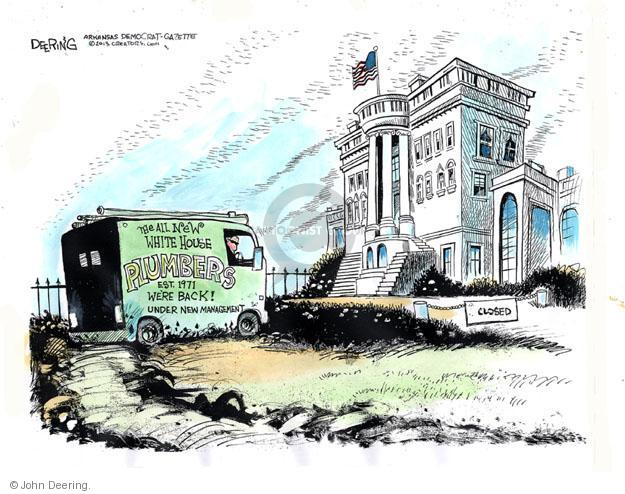 John Deering  John Deering's Editorial Cartoons 2013-05-21 new leak