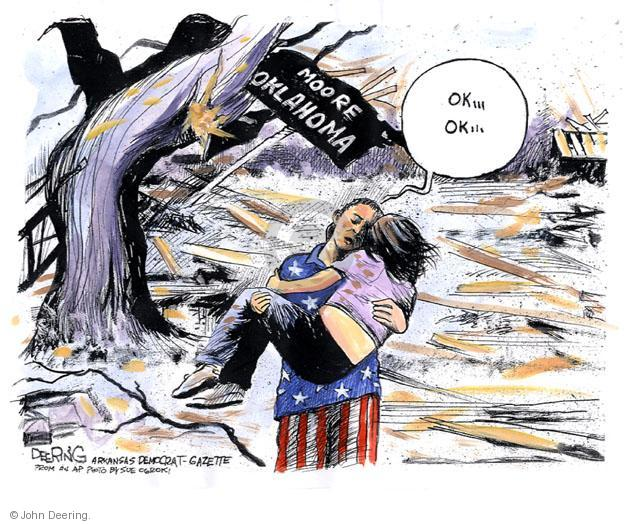 Cartoonist John Deering  John Deering's Editorial Cartoons 2013-05-23 destruction
