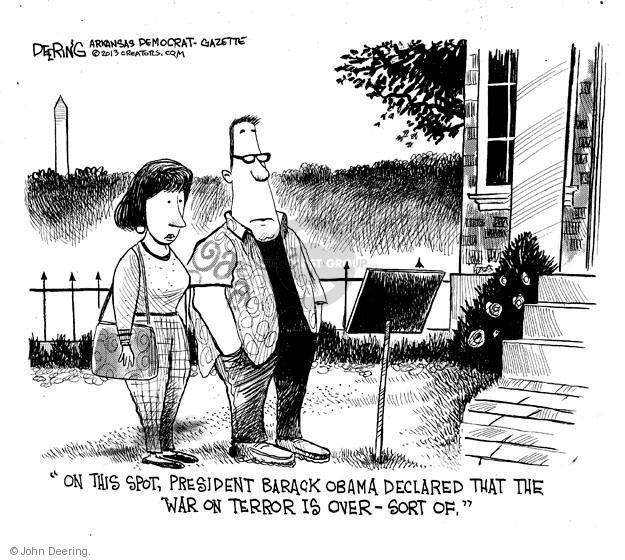 Cartoonist John Deering  John Deering's Editorial Cartoons 2013-05-29 defense