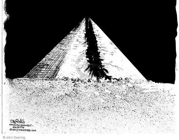 John Deering  John Deering's Editorial Cartoons 2013-07-06 pyramid