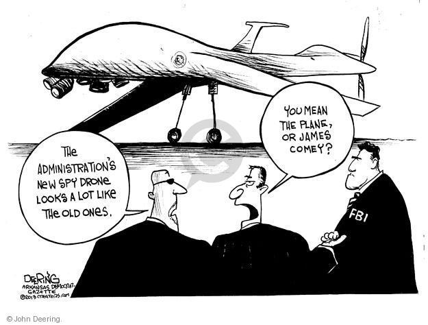 John Deering  John Deering's Editorial Cartoons 2013-07-12 James Comey