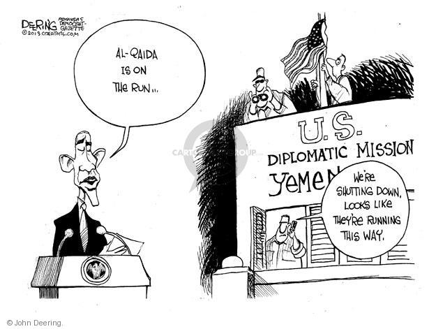 John Deering  John Deering's Editorial Cartoons 2013-08-06 diplomatic