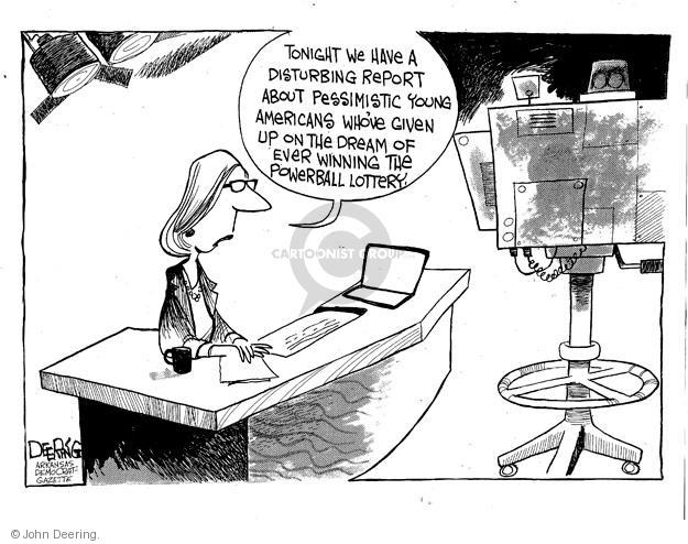 Cartoonist John Deering  John Deering's Editorial Cartoons 2013-08-17 reporter