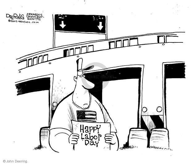 Cartoonist John Deering  John Deering's Editorial Cartoons 2013-09-01 worker