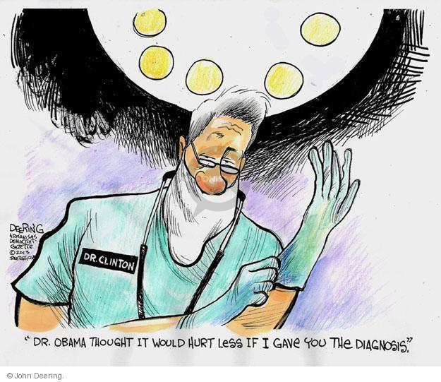 John Deering  John Deering's Editorial Cartoons 2013-09-07 Bill Clinton