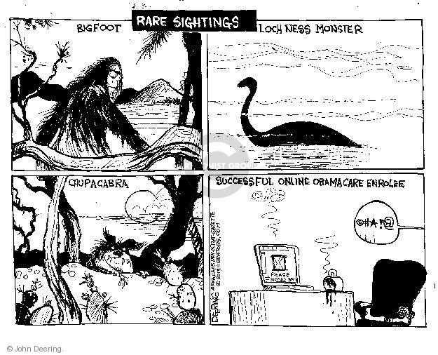Cartoonist John Deering  John Deering's Editorial Cartoons 2013-10-16 insurance