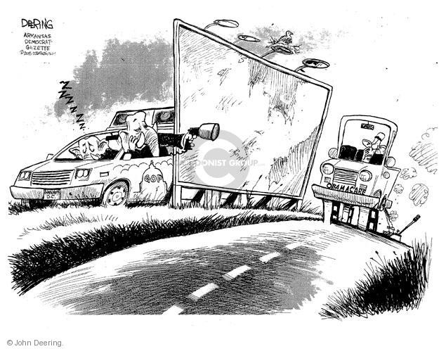 Cartoonist John Deering  John Deering's Editorial Cartoons 2013-10-24 insurance