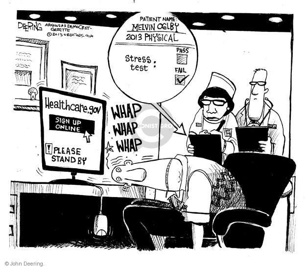 Cartoonist John Deering  John Deering's Editorial Cartoons 2013-11-01 insurance