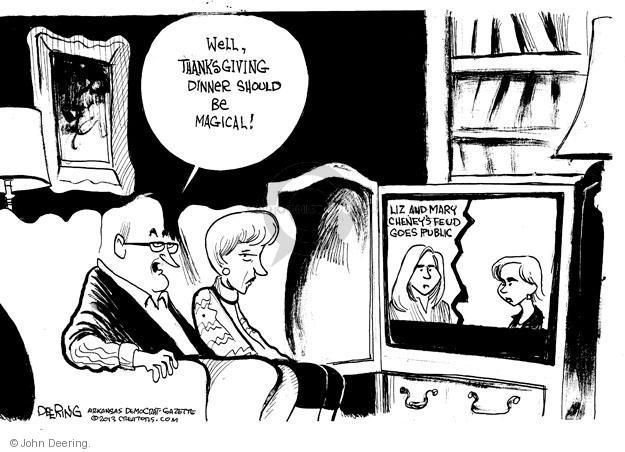 Cartoonist John Deering  John Deering's Editorial Cartoons 2013-11-19 republican senate